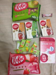 life after keto involves various packages of Kit-Kats in different sizes and colors