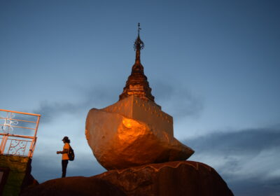 Exploring Golden Rock on Thadingyut
