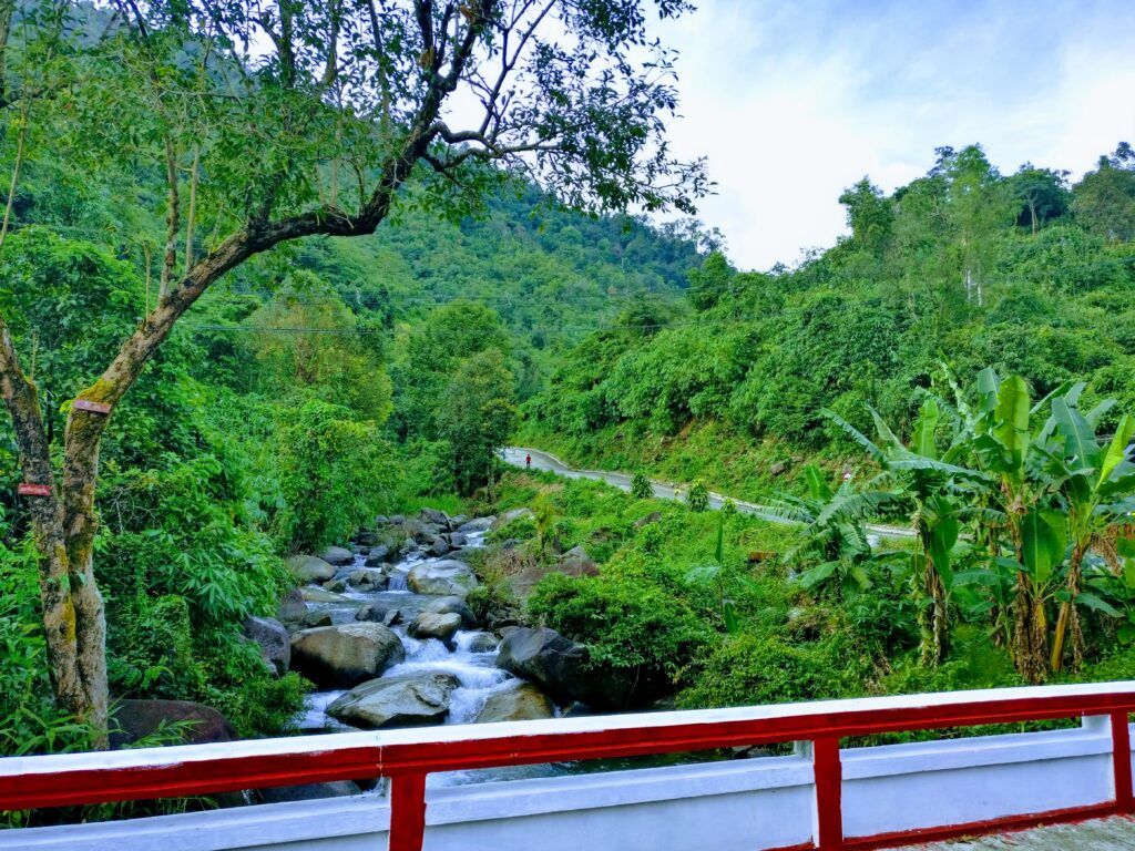 Mount Kyaiktiyo stream